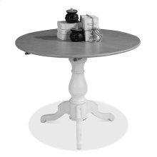 Round Pedestal Bistro Table,Unfinished