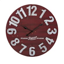 TY Berry Patch Wall Clock
