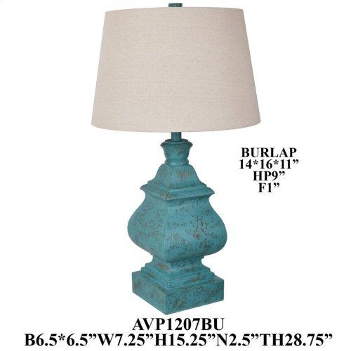 Resin Table Lamp