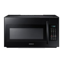 1.8 cu. ft. Over-the-Range Microwave with Sensor Cooking in Black