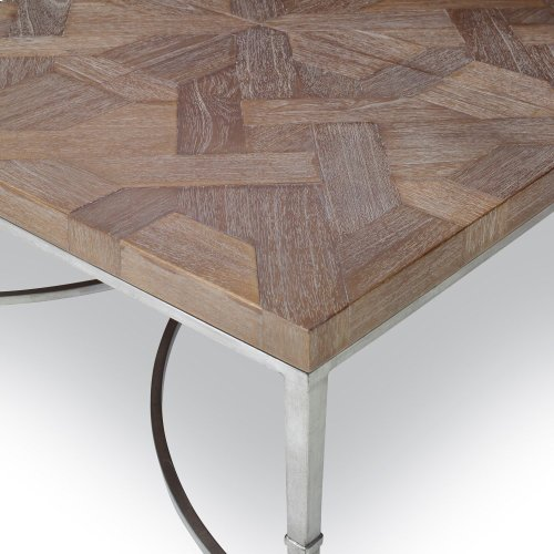Square Cocktail Table - Brown