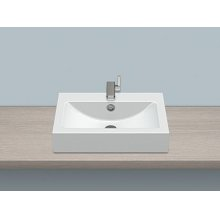 Sit-on basin