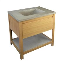 Solace 30-inch Vanity in Sunrise Oak