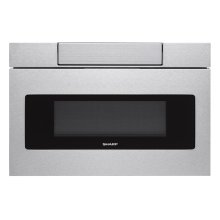 24 in. 1.2 cu. ft. 950W Sharp Stainless Steel Microwave Drawer Oven **CARTON DAMAGE** West Des Moines Location