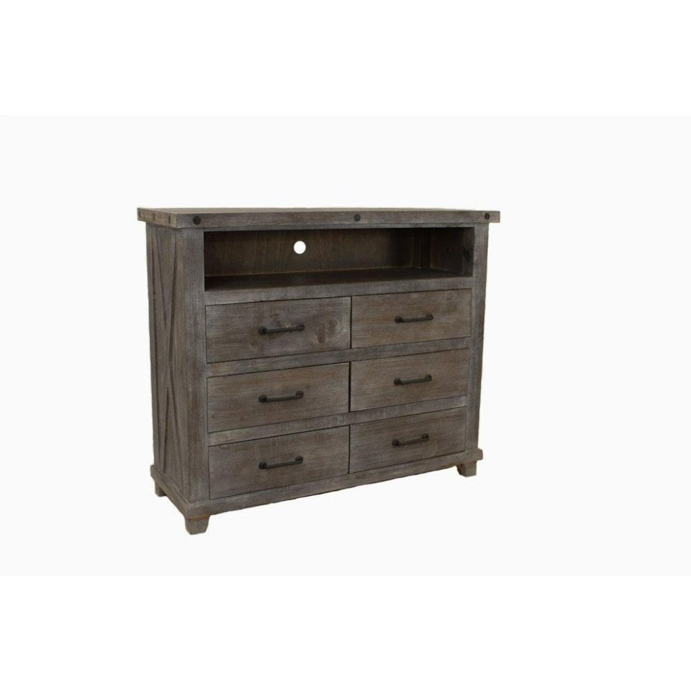 Stone Creek Industrial TV Chest