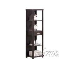 Shelf Cabinet w/Drawer Set