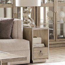 Sophie - Chairside Table - Natural Finish
