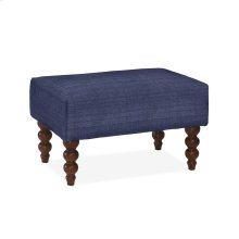 Rockport Small Ottoman, LUCT-BLUE