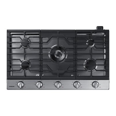 """36"""" Gas Cooktop in Stainless Steel Product Image"""