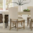 Aberdeen - Upholstered Side Chair - Weathered Driftwood Finish Product Image