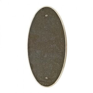 Oval Escutcheon - E560 Silicon Bronze Brushed Product Image