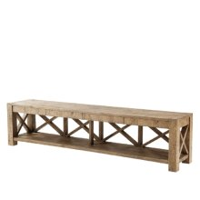 Stafford TV Console, Echo Oak