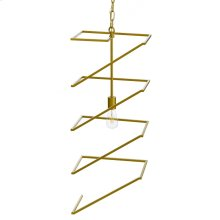 INDRA PENDANT- GOLD  Painted Gold Finished Metal