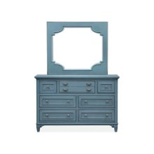 Landscape Mirror - Dark Teal