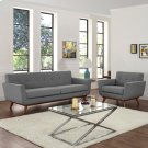 Engage Armchair and Sofa Set of 2 in Expectation Gray Product Image