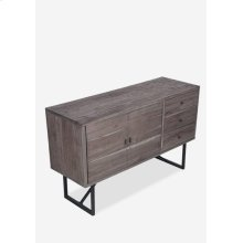 Townson Sideboard-Grey (53X18X32.25)