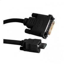DVI-to-HDMI Locking Cable (M-M) - 10 feet