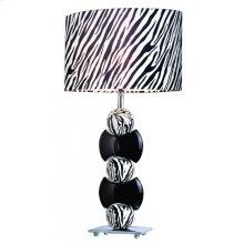 White & Black Table Lamp