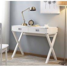 3879 White Writing Desk