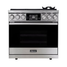 "36"" Range, Stainless Steel, Natural Gas/High Altitude"