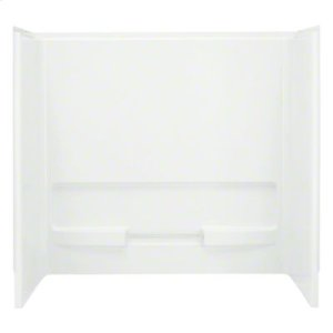 "Advantage™, Series 6103, 60"" x 31-1/4"" x 56-1/4"" Bath/Shower - Wall Set - White Product Image"