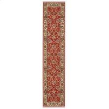 Ashara Agra Red Runner 2ft 6in x 12ft