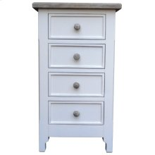 Chesapeake Chest of Four - Wht/rw