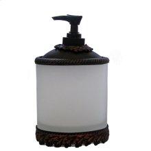 Oak Vanity Top Lg. Dispenser