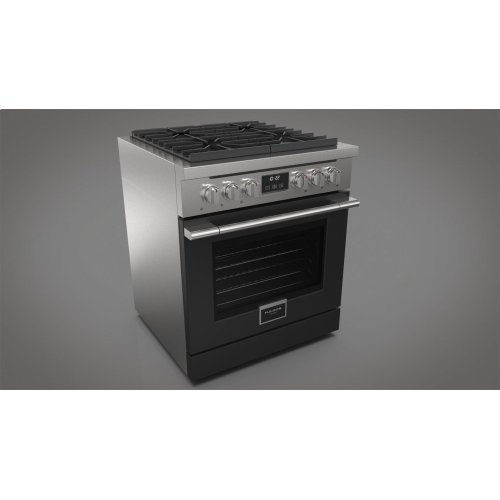 "30"" All Gas Range - Matte Black"