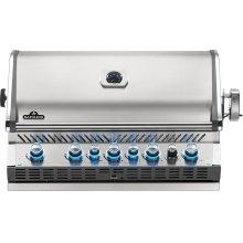Built-in Prestige PRO 665 RB Infrared Rear Burner , Stainless Steel , Natural Gas