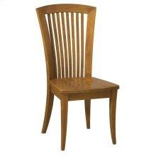 Model 23 Side Chair Wood Seat