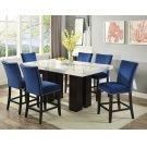 "Camila Blue Velvet Counter Chair W/ Nailhead 19""x26""X42"" Product Image"