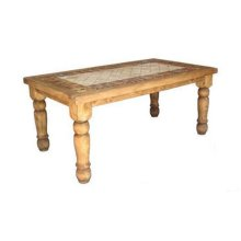 6' Rectangle Marble Table