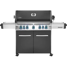 Prestige 665 RSIB Infrared Side & Rear Burners , Grey , Propane