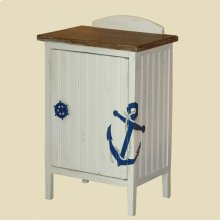 """Shoreline"" Anchor Commode"