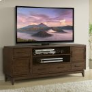 Vogue - 74-inch TV Console - Plymouth Brown Oak Finish Product Image