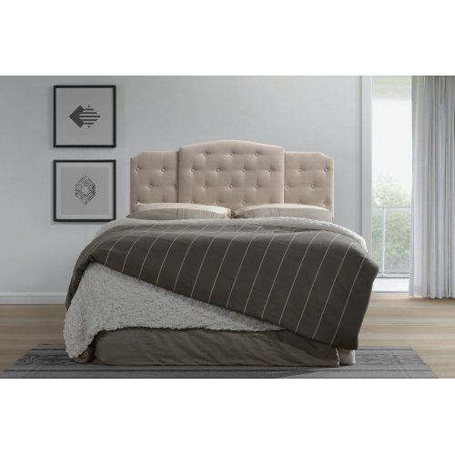 Emerald Home Extendable Twin-full-queen Headboard Cream #h1208-5 B162-19hb-09