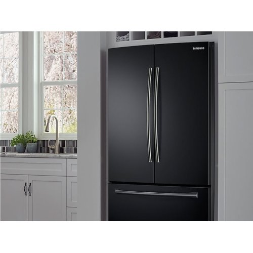 26 cu. ft. French Door Refrigerator with Internal Filtered Water in Black Stainless Steel