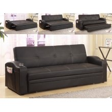 Easton Adjustable Sofa Black Pop Up