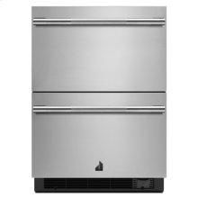 "RISE 24"" Double Drawer Refrigerator/Freezer"