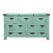 Painted Reclaimed Look Dresser