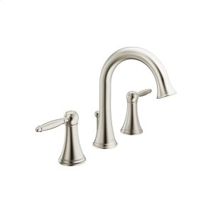 Classic widespread, brushed nickel Product Image