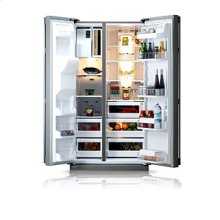 26.1 cu.ft. side by side refrigerator with wireless ICE Pad