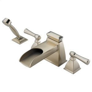 Roman Tub Faucet With Channel Spout and Handshower Product Image