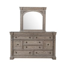 Kingsbury Beveled Dresser Mirror