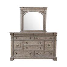 Kingsbury Beveled Dresser Mirror