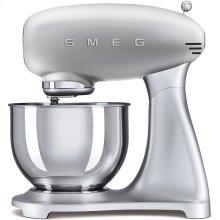 Smeg 50s Retro Style Design Aesthetic Stand Mixer, Silver