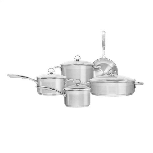 Chantal® 9-Piece Stainless Steel Cookware