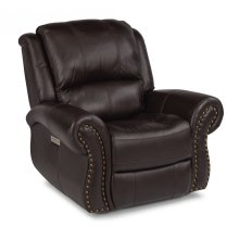 Patton Leather Power Recliner with Power Headrest