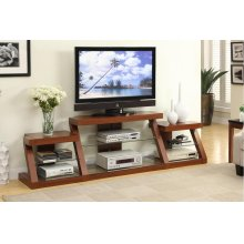 TV Stand W/ Side Shelf